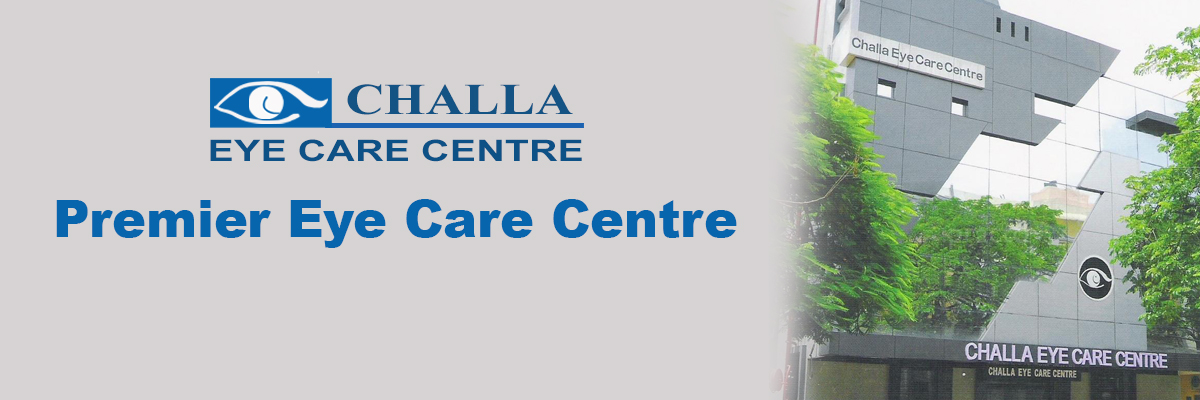 Challa Eye Care Centre NABH Accredited at par with international standardas